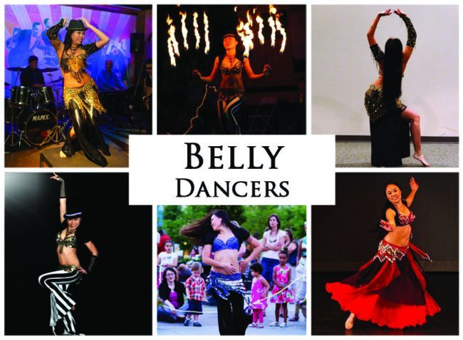 Belly Dancers | Imagine Circus | Acts | Cirque | Raleigh, NC