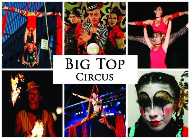 Big Top Circus | Imagine Circus | Themes | Cirque | Raleigh, NC