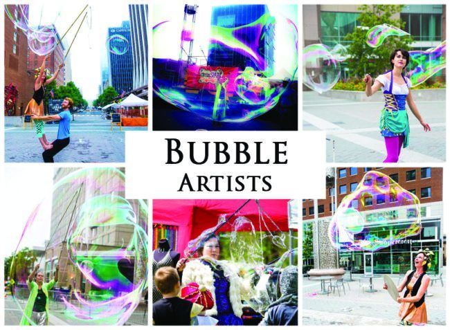 Bubble Artists | Imagine Circus | Acts | Cirque | Raleigh, NC