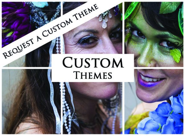 Custom Themes | Imagine Circus | Themes | Cirque | Raleigh, NC