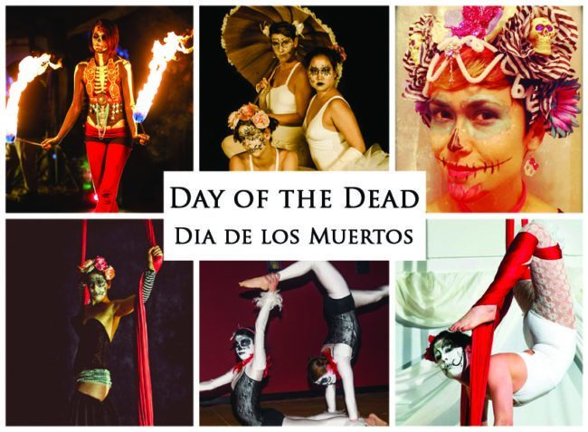 Day of the Dead | Dia de los Muertos | Imagine Circus | Themes | Cirque | Raleigh, NC