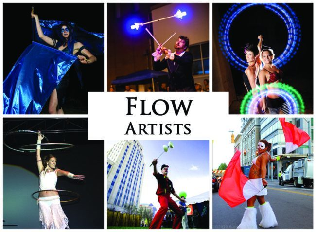 Flow Artists | Imagine Circus | Acts | Cirque | Raleigh, NC