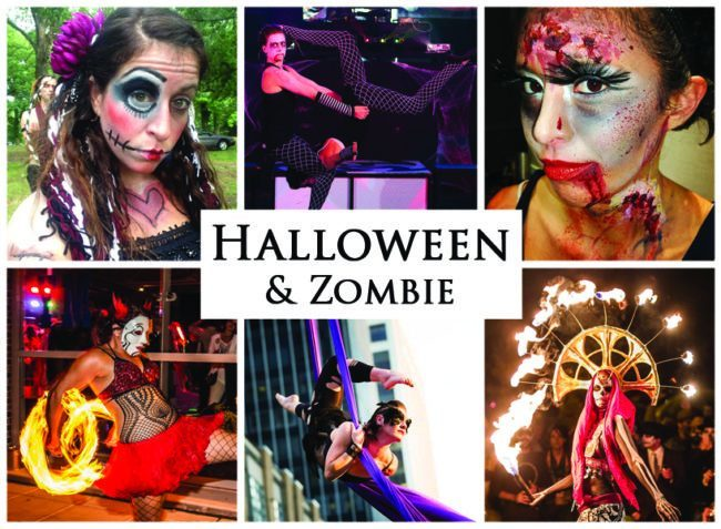 Halloween & Zombie | Imagine Circus | Themes | Cirque | Raleigh, NC
