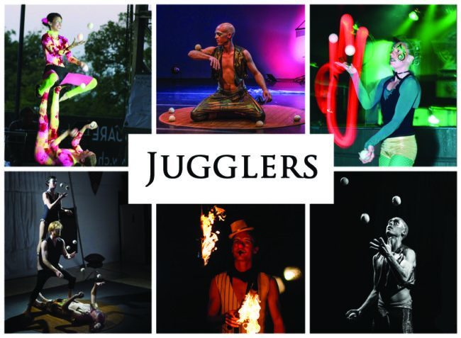Jugglers | Imagine Circus | Acts | Balls | Clubs | Fire | LED | Cirque | Raleigh, NC