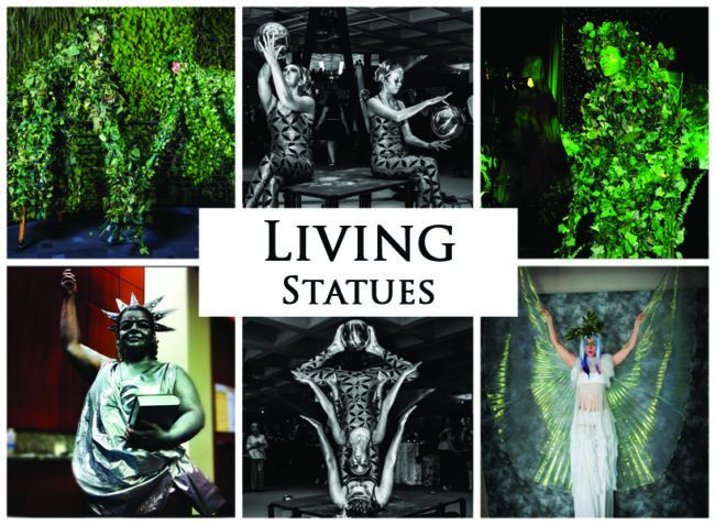 Living Statues | Imagine Circus | Acts