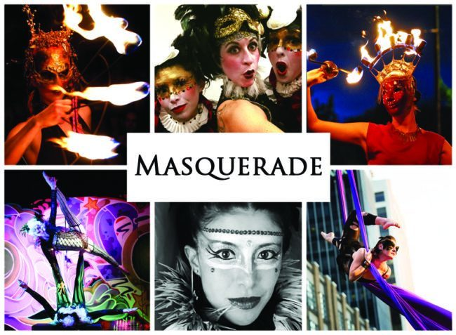 Masquerade | Imagine Circus | Themes | Cirque | Raleigh, NC