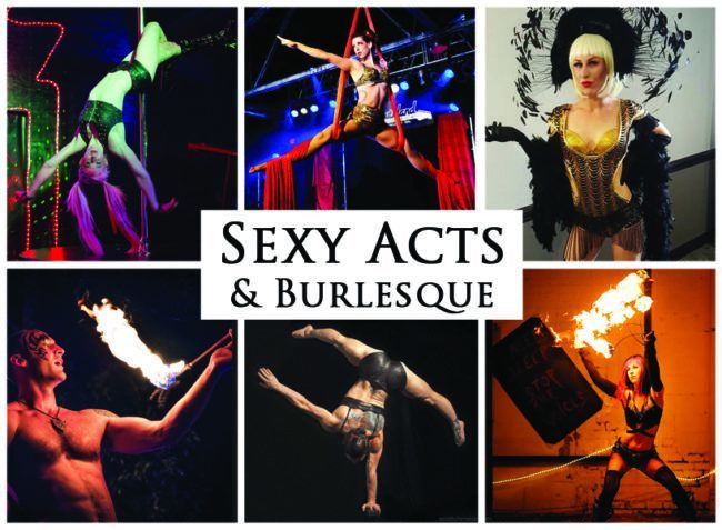 Sexy Acts and Burlesque Performers | Imagine Circus | Acts | Cirque | Raleigh, NC
