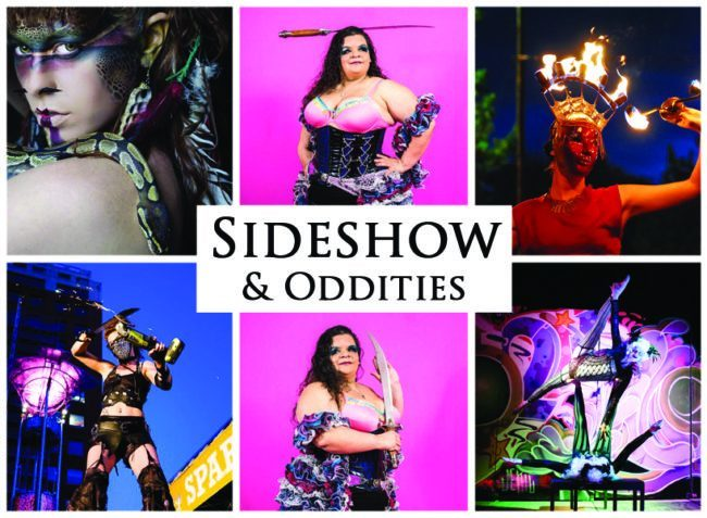 Sideshow Acts & Oddities | Imagine Circus | Acts | Cirque | Raleigh, NC