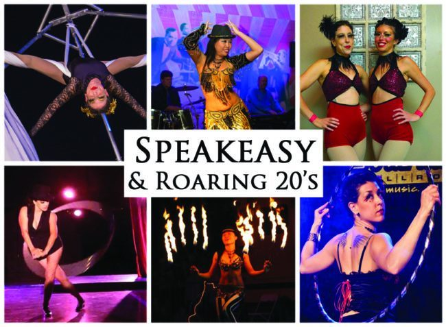 Speakeasy & Roaring 20's | Imagine Circus | Themes | Cirque | Raleigh, NC