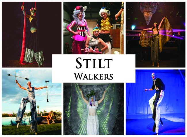 Stilt Walkers | Imagine Circus | Acts | | Cirque | Raleigh, NC