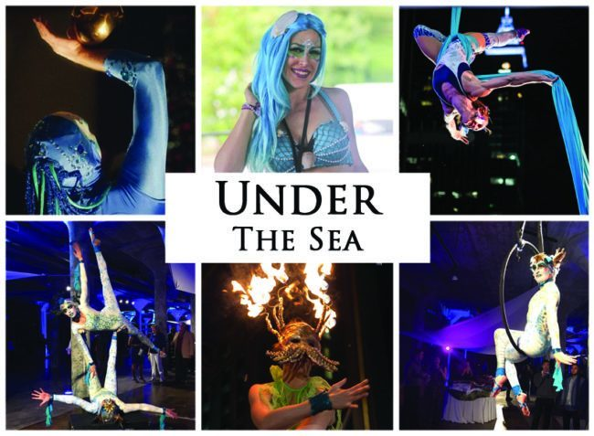 Under the Sea | Imagine Circus | Themes | Cirque | Raleigh, NC