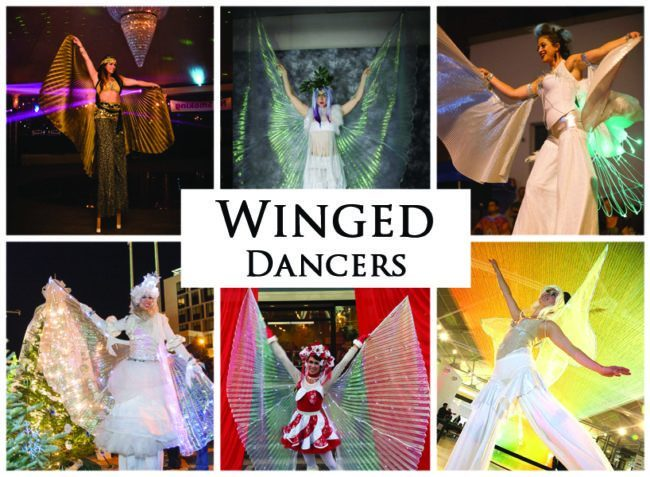 Winged Dancers | Imagine Circus | Acts | Cirque | Raleigh, NC