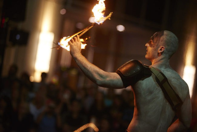 Brady | Fire Performer | Flow Sticks | Tribal | Imagine Circus | Cirque | Raleigh, NC