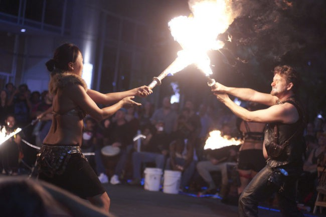 Asyia | Ian | Duo | Steam Punk | Victorian | Fire Performance | Fire Sword Battle | Imagine Circus | Cirque | Raleigh, NC
