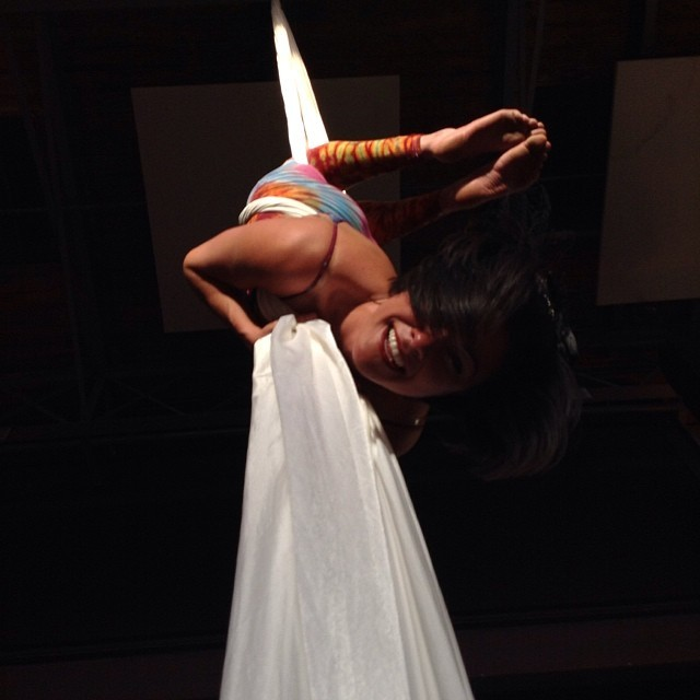 Morgan | Aerial Performance | Silks | Imagine Circus | Cirque | Raleigh, NC