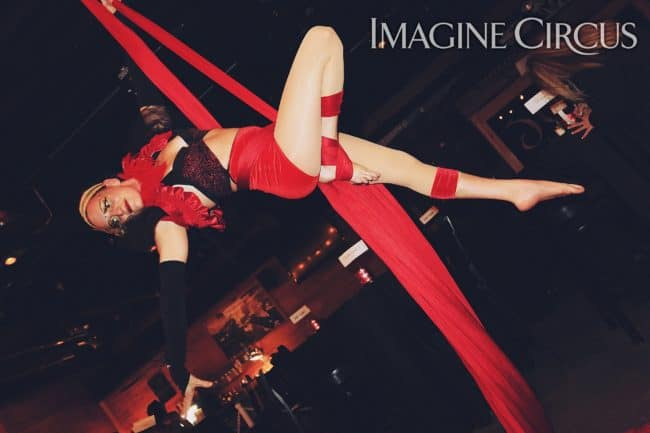 Aerial Silks, Aerial Dancer, Katie, Imagine Circus, Ted Lewis Photography