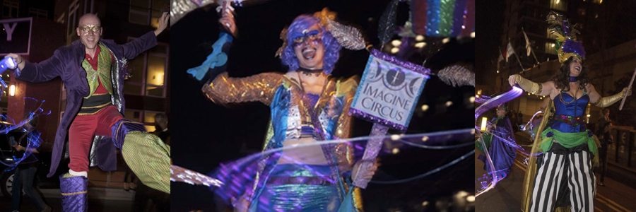Durham Mardi Gras Parade | Blog Feature Image | Imagine Circus Events