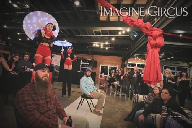 Stilt Walkers, Performers, Kaci, Liz, Imagine Circus, Ted Lewis Photography