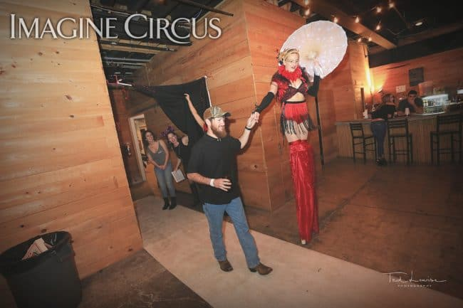 Stilt Walker, Performer, Katie, Imagine Circus, Ted Lewis Photography