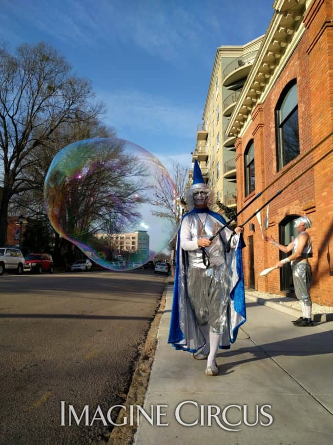 Wizard, Bubble Artist, Performers, Joey, Imagine Circus