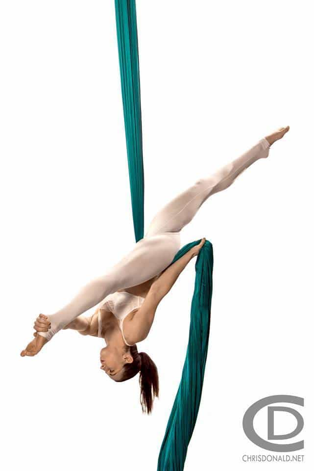 Dakota Fox | Aerial Silks | Performer | Imagine Circus | Cirque | Raleigh, NC