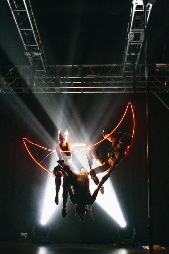 Dakota Fox | Aerial Moon | Custom Apparatus | Performer | Imagine Circus | Cirque | Raleigh, NC