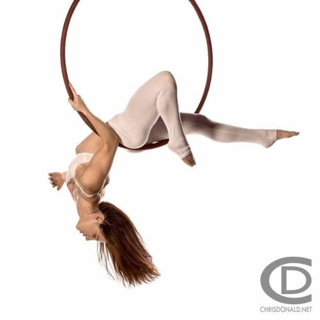 Dakota Fox | Aerial Lyra| Performer | Imagine Circus | Cirque | Raleigh, NC