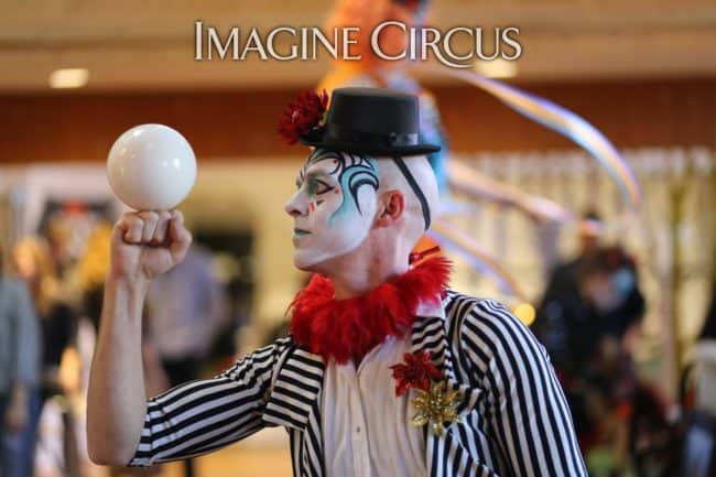 Cirque | Contact Juggling | Adam | Imagine Circus | HQ Raleigh | Photo by Kaili Ingram