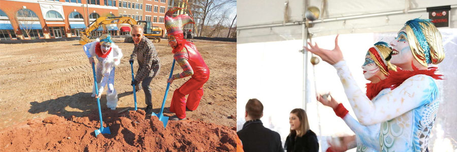 Durham Innovation District Ground Breaking Ceremony | Blog Feature Image | Imagine Circus Events