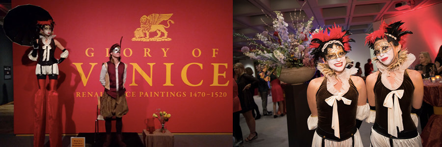 Glory of Venice Art Exhibit Gala | Blog Feature Image | Imagine Circus Events