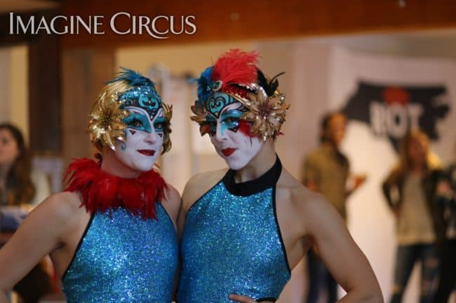 Imagine Circus | Performers | Katie & Liz | Photo by Kaili Ingram