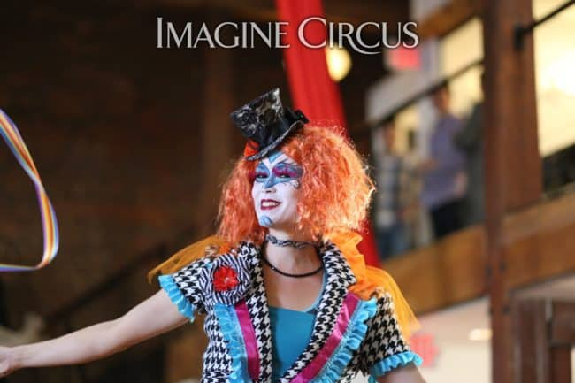 Stilt Walker | Cirque | Mindy | Imagine Circus | HQ Raleigh | Photo by Kaili Ingram
