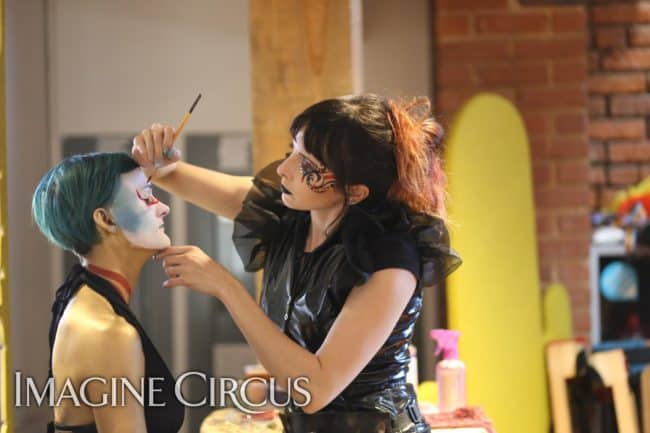 Face paint | Molly | Kaylan | Imagine Circus | HQ Raleigh | Photo by Kaili Ingram