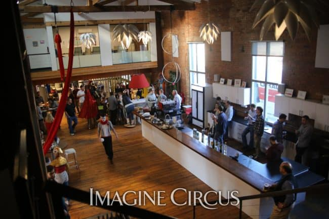 Rigging | Imagine Circus | HQ Raleigh | Photo by Kaili Ingram