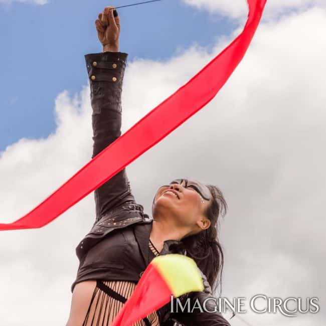 Poi Dancer | Performer | Asyia | Imagine Circus | Photo by Slater Mapp