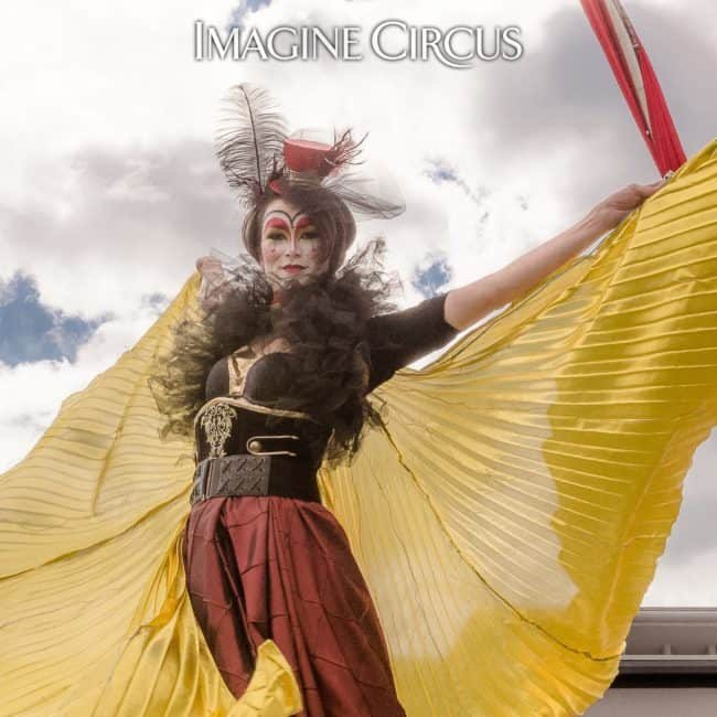 Isis Wings | Dancer | Mindy | Imagine Circus | Photos by Slater Mapp