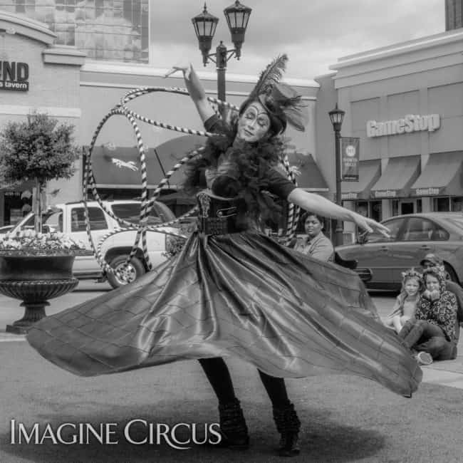Spinning Skirt Dancer | Mindy | Imagine Circus | Photos by Slater Mapp