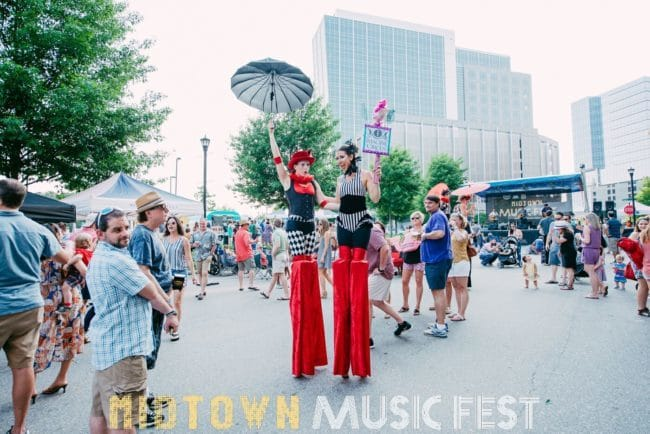 Big Top Circus Stilt Walkers | Katie & Liz | Imagine Circus | Raleigh, NC