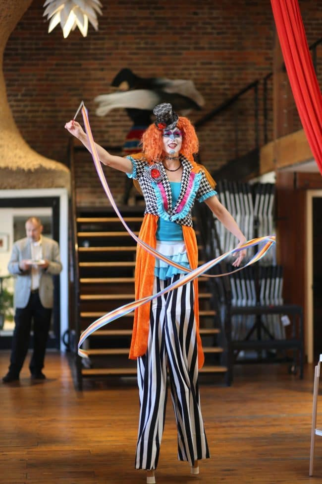 Modern Cirque Stilt Walker | Mindy | Imagine Circus | Raleigh, NC