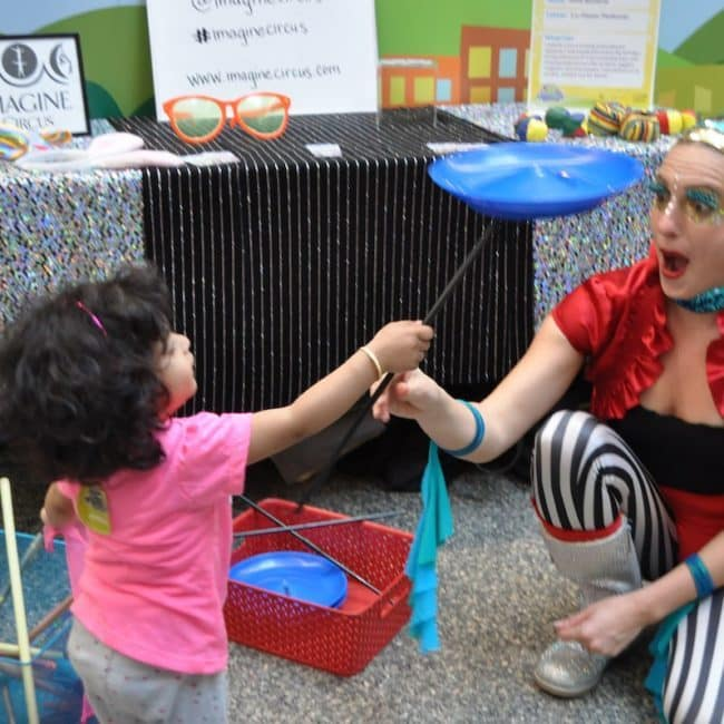 Kids Circus Demo at Marbles Museum | Imagine Circus | Raleigh, NC