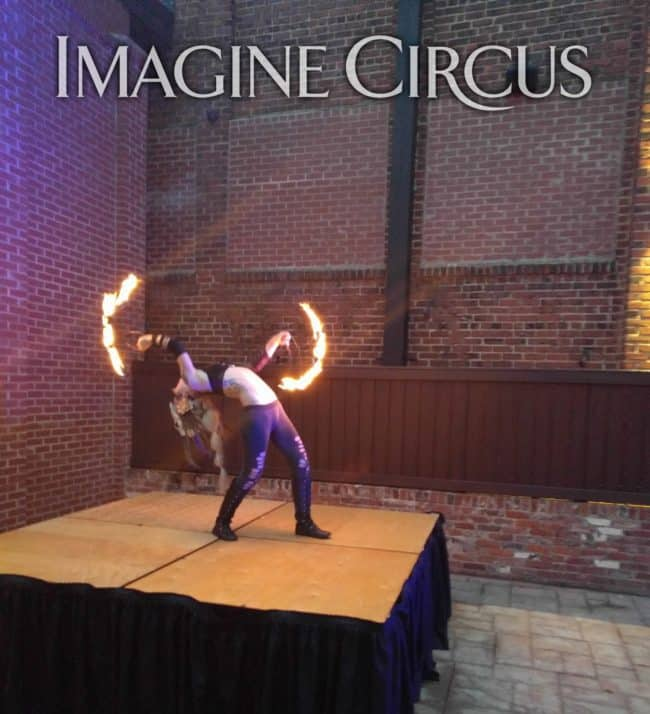 Fire Dancer, Sexy Performer, Adrenaline, Imagine Circus