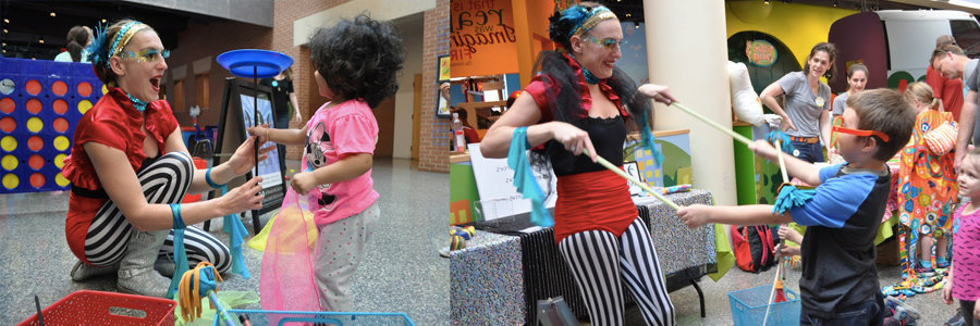 Future Me | Blog Feature Image | Kids Circus Demo at Marbles Museum | Imagine Circus | Raleigh, NC