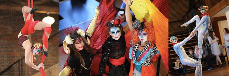 HQ CAM Video Shoot | Blog Feature Image | Imagine Circus Events