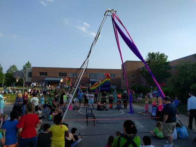 Circus Show at Elementary School | Imagine Circus | Raleigh, NC