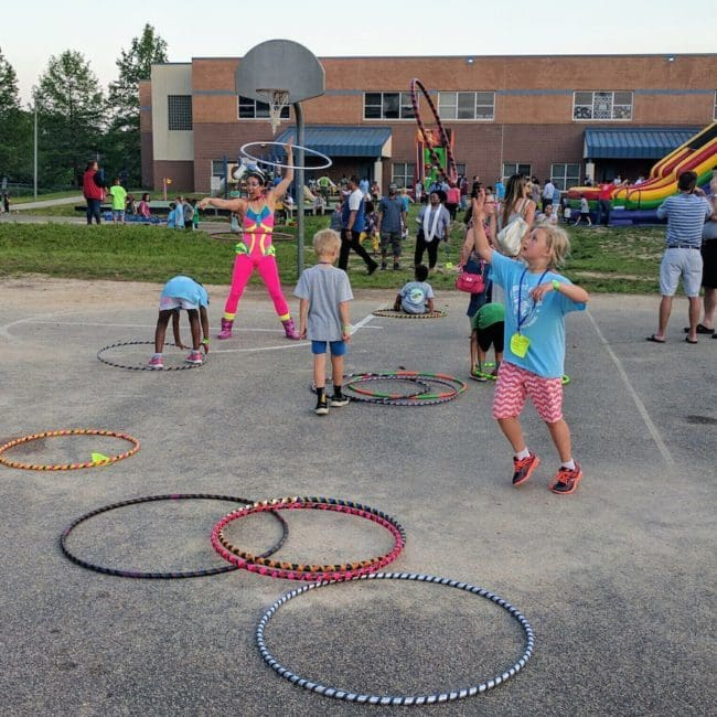 Hoop Jam and Circus Show at Elementary School | Imagine Circus | Raleigh, NC