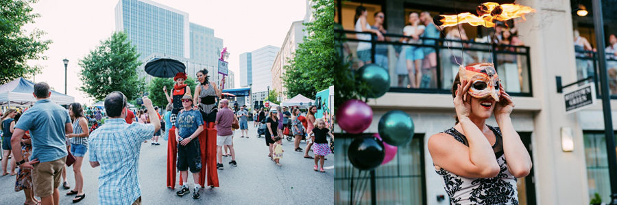 Midtown Music Fest | Blog Feature Image | Imagine Circus Events