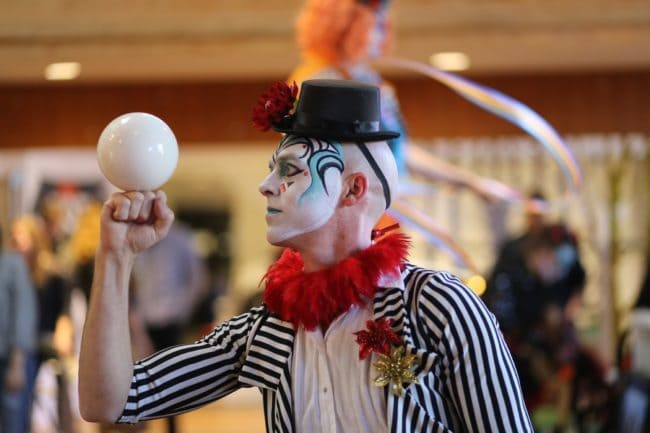 Modern Cirque Contact Juggler | Adam | Imagine Circus | Raleigh, NC