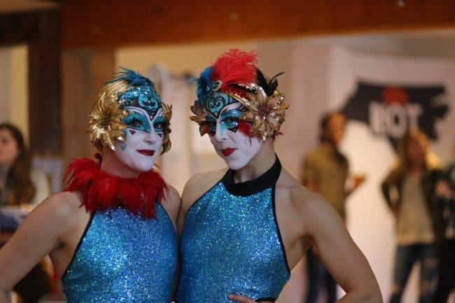 Modern Cirque Lyra Performers | Aerial Hoop Duo | Katie & Liz | Imagine Circus | Raleigh, NC