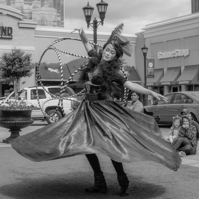 Hoop Dance with Hube (Hoop Cube) | Cirque Performer | Mindy | Imagine Circus | Raleigh, NC