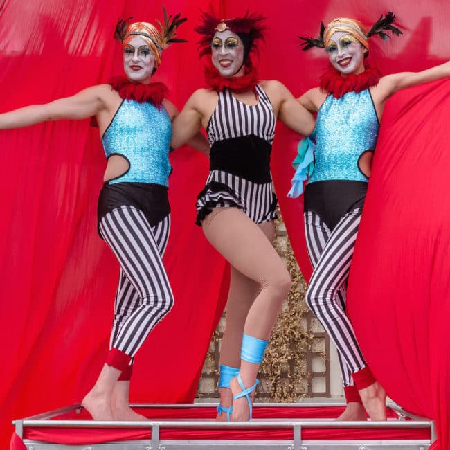 Cirque Performers | Katie, Liz & Kaci | Imagine Circus | Raleigh, NC